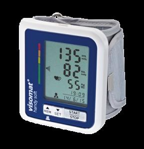das Blutdruckmessgerät visomat handy soft