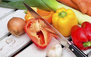 Ausgewogene, gesunde Ernährung ist wichtig.